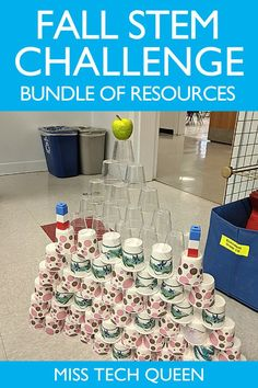 My Fall STEM Bundle includes 5 different apple and turkey themed STEM challenges for your kindergarten, 1st, 2nd, or 3rd grade classroom! Your students will love these fun and hands-on activities that incorporate problem solving and math skills. The activities could be completed in small groups or whole group.