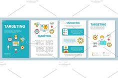 Brochure Design, Brochure Template, Flyer Design, Layout Template, Box Design, Design Art, Graphic Design, Booklet Layout, Leaflet Printing