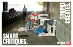 Awesome Diesel Smart/Stupid ad campaign