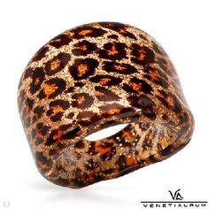 $45.50 VENETIAURUM Murano Glass Ring
