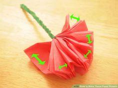 Image titled Make Tissue Paper Flowers Step 6