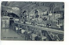 1941 Saddle Bar Jack Delaney's Sheridan Square New York City Greenwich Village in Collectibles, Postcards, US States, Cities & Towns, New York | eBay