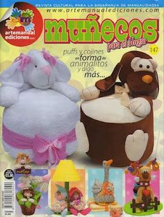 View album on Yandex. Sewing For Kids, Free Sewing, Dyi Pillows, Baby Toys, Kids Toys, Bean Bag Pattern, Animal Magazines, Dolly Doll, Sewing Magazines