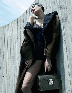 emma summerton5 Catherine McNeil Gets Luxe for Vogue Japan Shoot by Emma Summerton