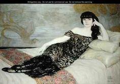 Anna de Noailles. C. H. Dufau. 1914