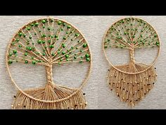 Dream Catcher Decor, Dream Catcher Boho, Macrame Wall Hanging Patterns, Macrame Patterns, Fun Crafts, Diy And Crafts, Deco Nature, Macrame Design, Macrame Projects