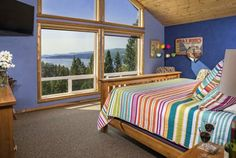 Outlook Inn Bed and Breakfast (175 Boon Road) Located above the west shore of Flathead Lake in Somers, the Outlook Inn Bed and Breakfast features unparalleled lake views from every room.  Some rooms offer TV/DVD, fridge, microwave, coffee machines. #bestworldhotels #hotel #hotels #travel #us #montana