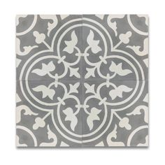Pack of 12 Casa Grey and White Handmade Cement and Granite Floor and Wall Moroccan Tiles (Morocco) - 18059260 - Overstock - Great Deals on Moroccan Mosaic Accent Pieces - Mobile Grey Tiles, White Tiles, Marble Tiles, Granite Flooring, Diy Casa, Moroccan Tiles, Moroccan Stencil, Moroccan Tile Bathroom, Bathroom Black
