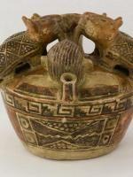 Vessel, Recuay, Peru, north highlands, 100 B.C.E. - 600 C.E., Ceramic, Fowler Museum at UCLA. Fowler Museum at UCLA. X88.842.