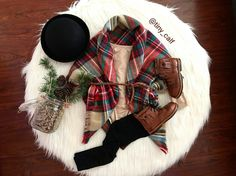 Baby/ toddler winter fashion outfits. Christmas picture outfits. Holiday festive outfit. Mikoleon boots. Target bowler hat. Target blanket scarf. ☃❄