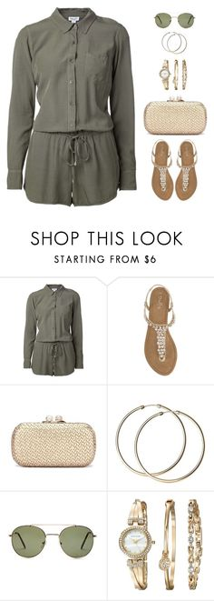 """""""Untitled #1057"""" by gallant81 ❤ liked on Polyvore featuring Splendid, Duffy, Forever 21 and Anne Klein"""