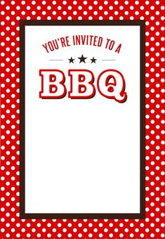 #BBQ Party #Invitation Free Printables