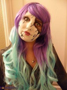 Broken Doll DIY Halloween Costume