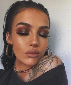 Glam Makeup Look, Day Makeup, Makeup Goals, Gorgeous Makeup, Pretty Makeup, Skin Makeup, Makeup Inspo, Makeup Inspiration, Makeup Hacks