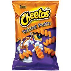 Cheetos Twisted Puffs Cheese Flavored Snacks, 9 oz
