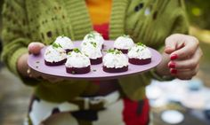 These cute little canapés are as easy to put together as they are on the eye.