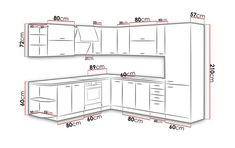 Set de bucatarie UPA1 Wardrobe Doors, Floor Plans, Flooring, How To Plan, Kitchen, Furniture, Appointments, Rustic Kitchens, Home