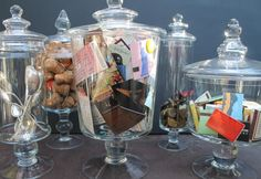 Lovely Things: candy jars filled to the brim . . . with memories