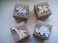 30 Baby shower safari amimals favor box birthday by TheLondonLoft