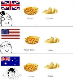 Just when you think you all speak the same language, this happens...    Just 100 Really Fucking Funny Memes About Australia