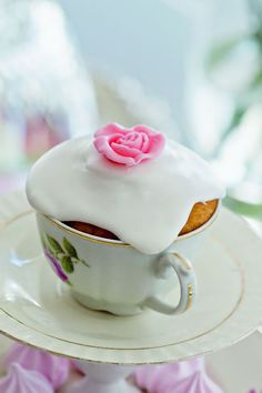 High Tea Cupcakes - Orange Cranberry Scones Baked In Teacups Recipes ...