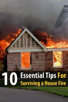 Many people have perished in house fires, and if you don't want the same thing to happen to you, then take these 10 tips very seriously.