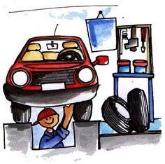 Mechanic -  Tarjetas de las profesiones - La Eduteca - Álbumes web de Picasa
