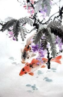 1000 images about koi paintings images on pinterest koi for Koi fish pond csulb