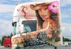 SCANIA Custom Big Rigs, Custom Trucks, Show Trucks, Big Trucks, Transportation Logo, Truck Paint, Trucks And Girls, Heavy Truck, Airbrush Art