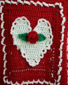 Snuggle under this afghan with your sweetie on Valentine's Day