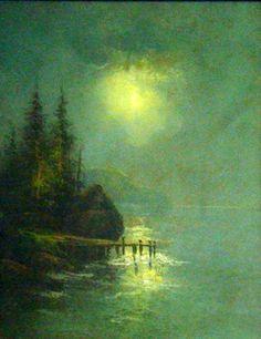 William Henry Chandler - moonlight