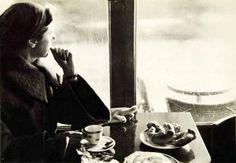 Paris 1954 Rainy day Sanford H Roth