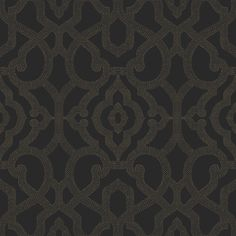 WALLPAPER TIP #1 BOLD FEATURE WALL:  GET THE LOOK with ALLURE wallpaper COD0126 from York Wallcovering #candiceolson