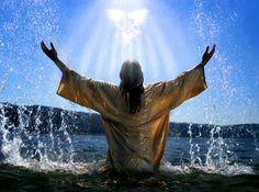 « C'est lui le Fils de Dieu » dit Jean le Baptiste, cela vient préciser le sens de cet « Agneau de Dieu ». Dans le baptême de Jésus, c'est ce sacrifice qui est préfiguré : Jésus entre dans l'eau – symbole de la mort – et il y est immergé ; mais il en sort car ce sacrifice débouche sur la résurrection, et cela annonce le pardon des péchés, la sanctification du monde sur lequel descend le Saint-Esprit. - Dimanche 15 janvier 2017