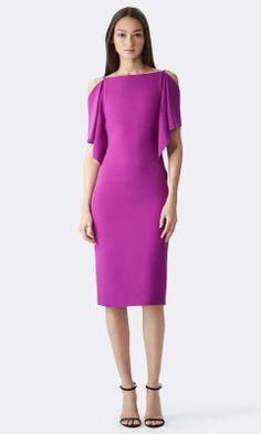 Charlotte Silk Dress - Collection Apparel Short Dresses - RalphLauren.com