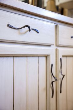 Custom Made Custom Hand Forged Door And Drawer Pulls