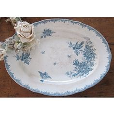 french serving platter