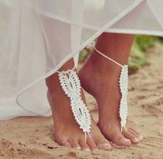 istället för bröllopsskor :) [strandbröllop]