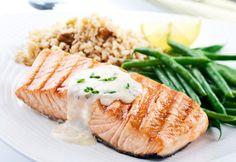 Recette Filets de saumon à la moutarde - Coup de Pouce