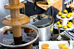 Chocolate Fountain Syrup   Chocolate fountains, Nutella and Waffles on Pinterest