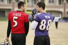 Joe Flacco & Dennis Pitta