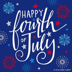Sparklers, fireworks and barbecues, oh my! Happy 4th of July!