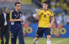 James Rodríguez, el joven maravilla que guió a Colombia a Brasil James Rodriguez, Sports, Tops, Colombia, T Shirts, Hs Sports, Sport