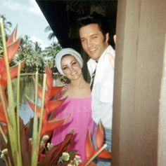 Elvis and Priscilla, 1968