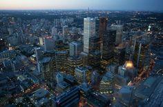 Blick vom CN Tower in #Toronto #Canada http://www.sktouristik.de/Reisen/Attraktionen/Stadt/CN-Tower.html?listtype=search&searchparam=toronto