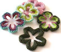 Flower Power Pattern - Item Number 14479 at Bead-Patterns.com