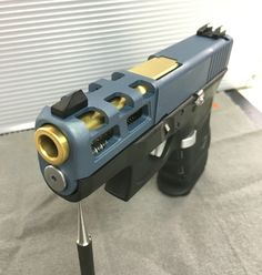 Self Defense Tips and Guides Custom Glock, Custom Guns, Weapons Guns, Guns And Ammo, Tactical Knives, Tactical Gear, Glock Mods, Revolver, Weapon Storage