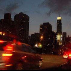 Driving into Manhattan. 59th St. Bridge