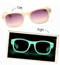 i want these too!!! ... then again there is no need to wear sunglasses at night! dilemma
