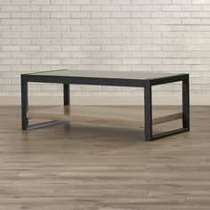 Elegant And Minimalist Coffee Table. Discover More: Coffeeandsidetables.com  | #minimalistcoffeetable #